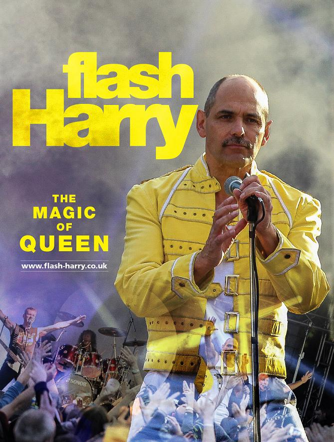 Flash Harry - the ultimate Queen tribute