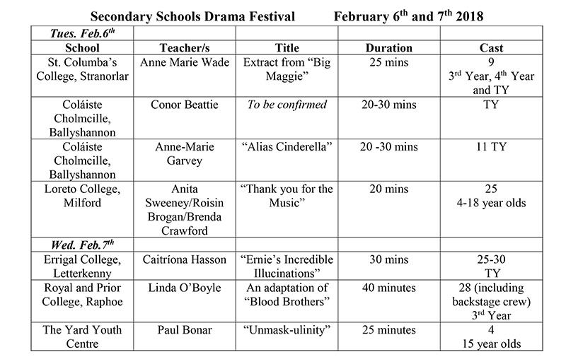 sec-drama-fest-timetable