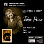 Anthony Toner sings John Prine